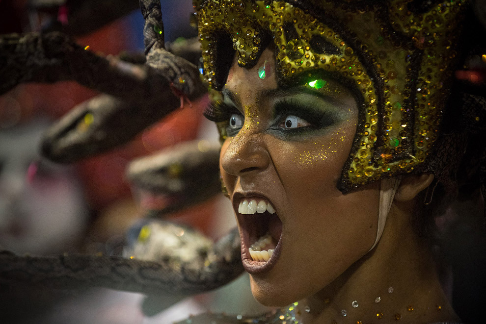 Самые красочные и самые знаменитые карнавалы в мире проходят, разумеется, в Рио-де-Жанейро