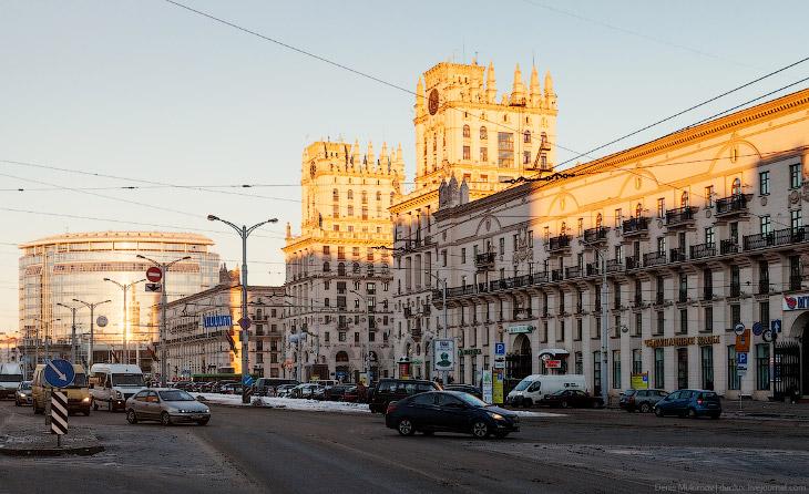 Прогулка по Минску