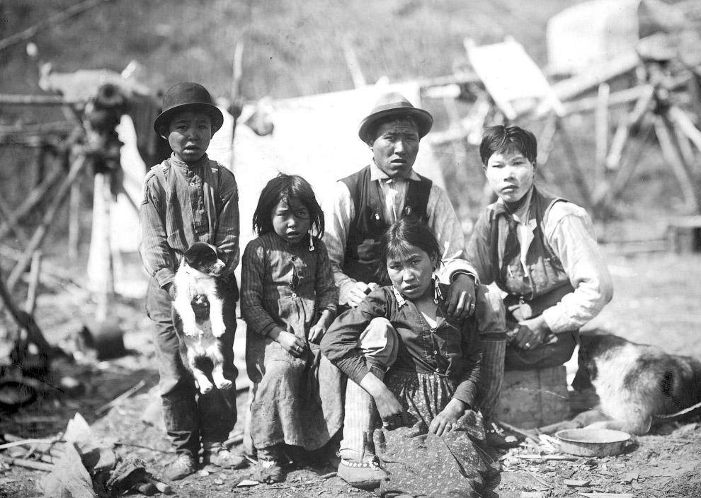 Местные на Аляске между 1906 и 1915 годами