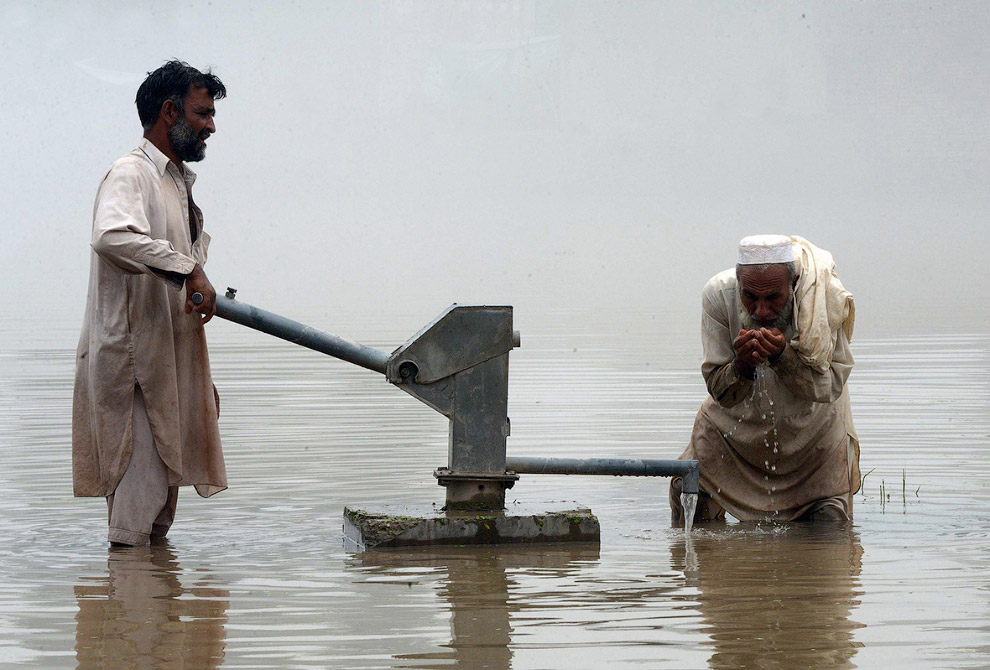 Фактурный насос в провинции Хайбер-Пахтунхва Пакистана