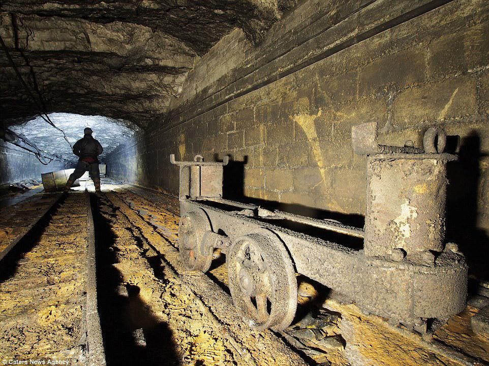 Флюоритовый рудник в графтсве Дербишир