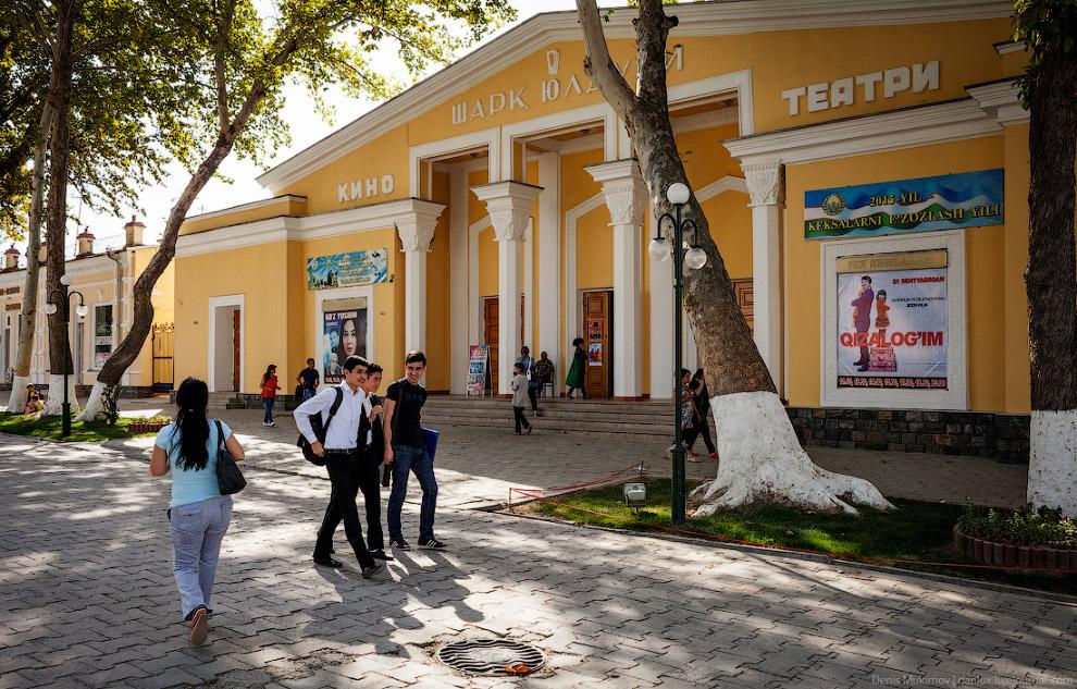 Самарканд — самый туристический город Узбекистана