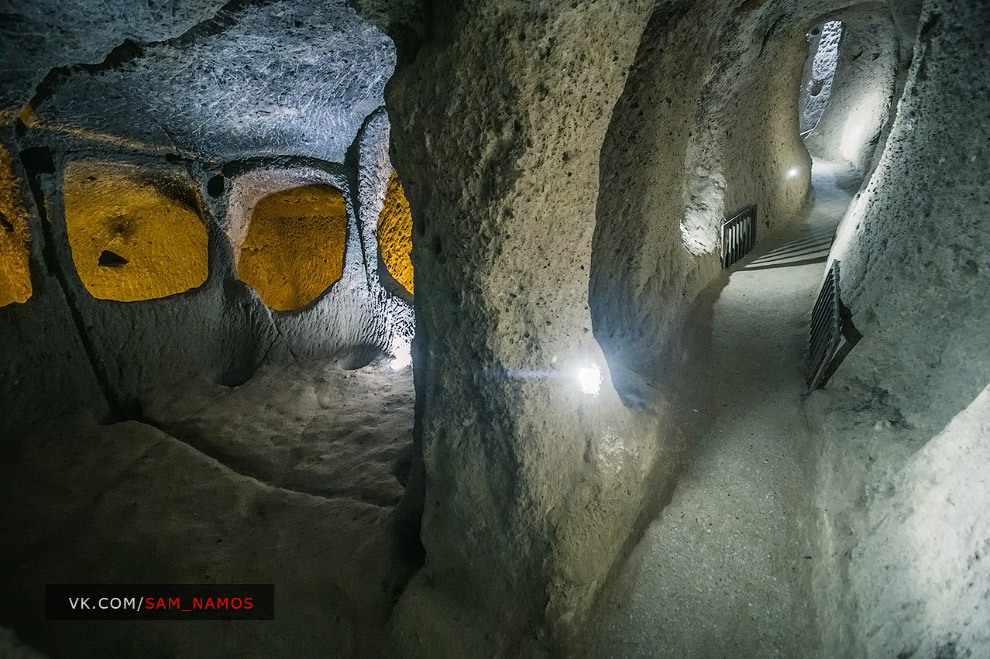 Деринкую — самый большой и самый глубокий подземный город Турции