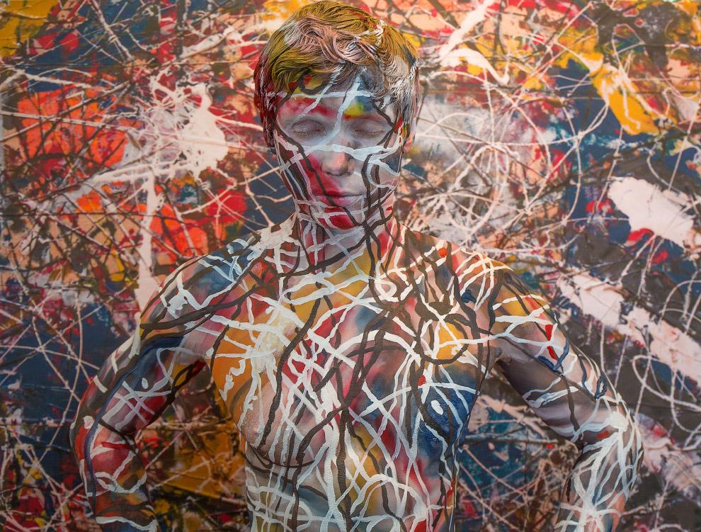 Картину Джексона Поллока «Number 17A»