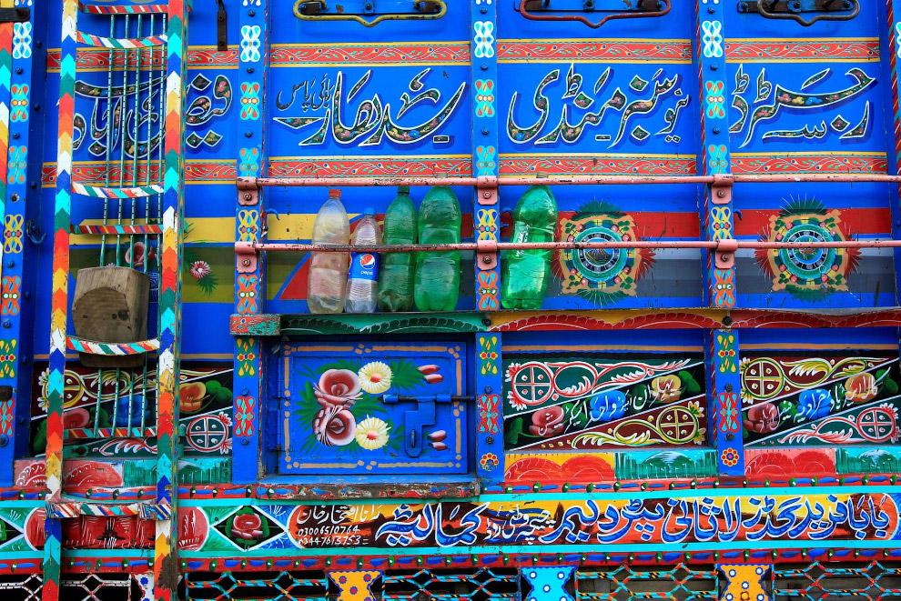 Грузовик, как искусство. Пакистан