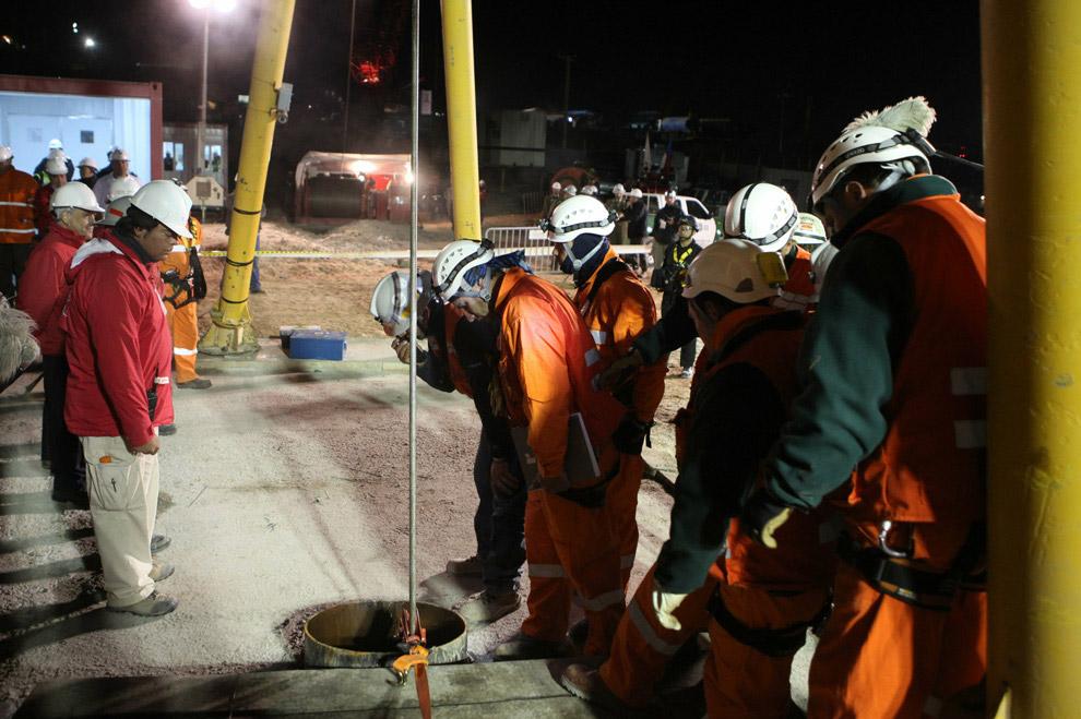 o colapso da mina de San Jose