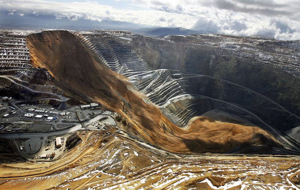 Quarry Bingham Canyon Mine em Utah
