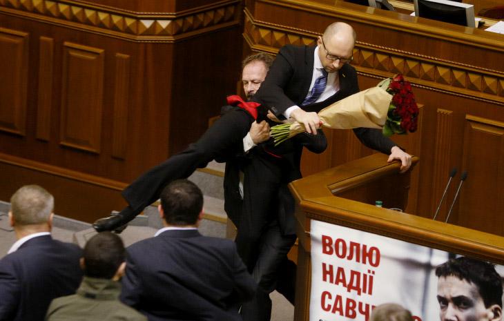 Бои украинских политиков