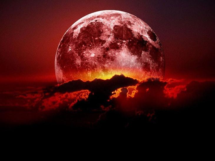 Кровавая Голубая Луна 2018