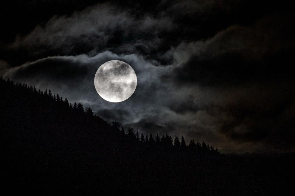 Луна на юге Германии