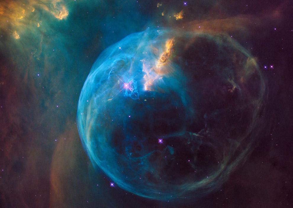 Туманность Пузырь