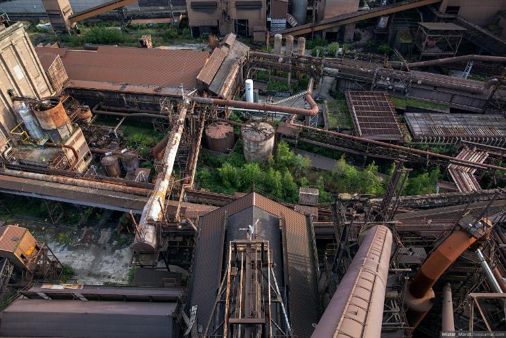 Заброшенные заводы Бельгии, часть 3
