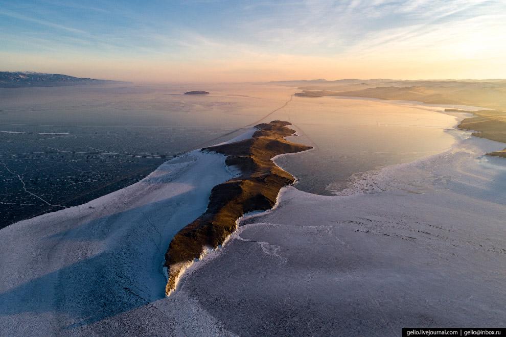 Узкий и извилистый Огой — самый большой остров в Малом Море