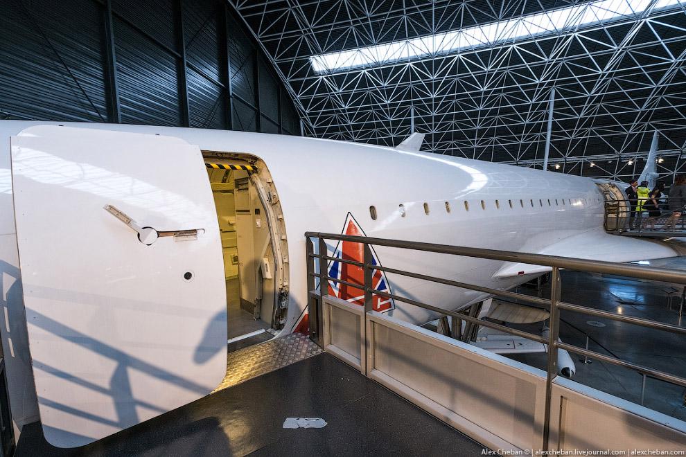 Легендарный самолет Конкорд