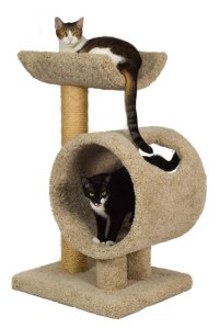 Premium Carpeted Cat Tree For Large Cats - Carpet Vidalondon