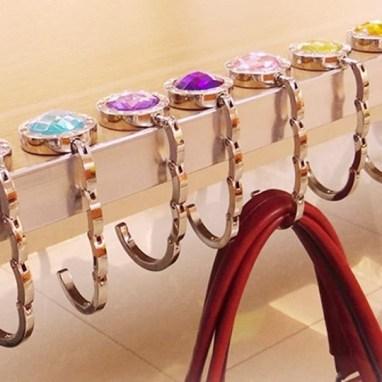 Handbag purse hooks