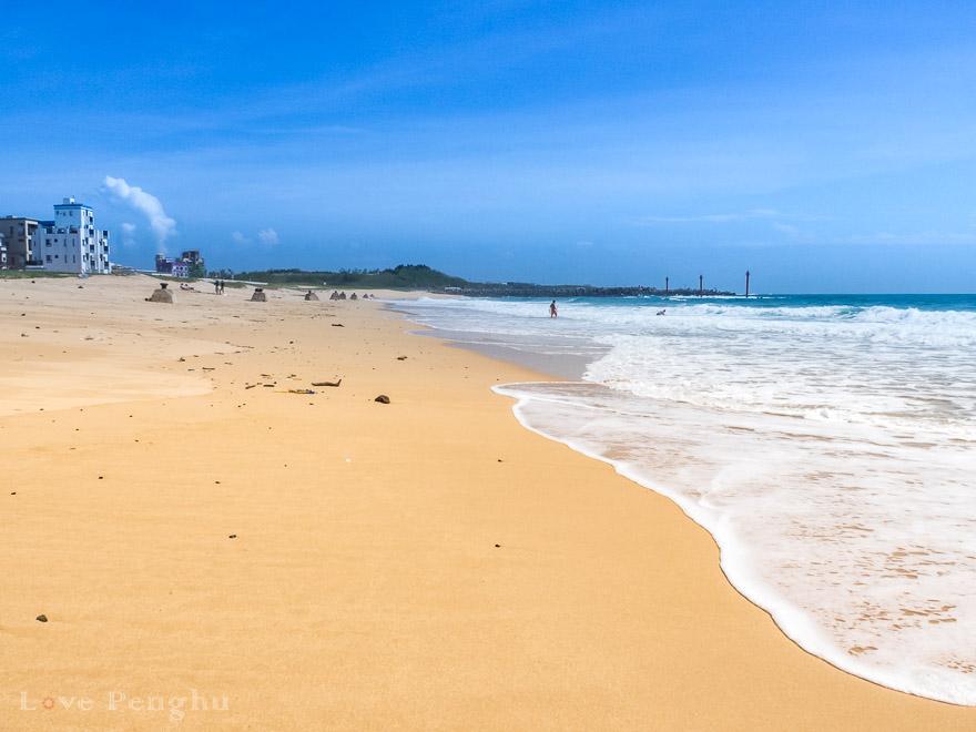 澎湖(ポンフー)の山水ビーチ
