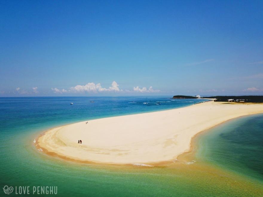 澎湖(ポンフー)の離島「吉貝嶼」の「沙尾」