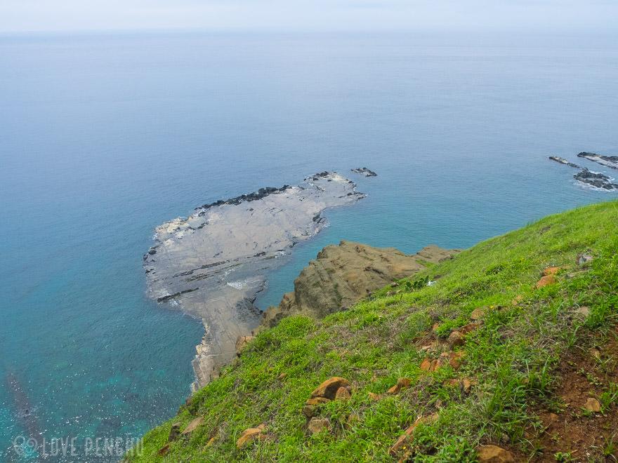 澎湖(ポンフー)の離島「七美」にある小台湾