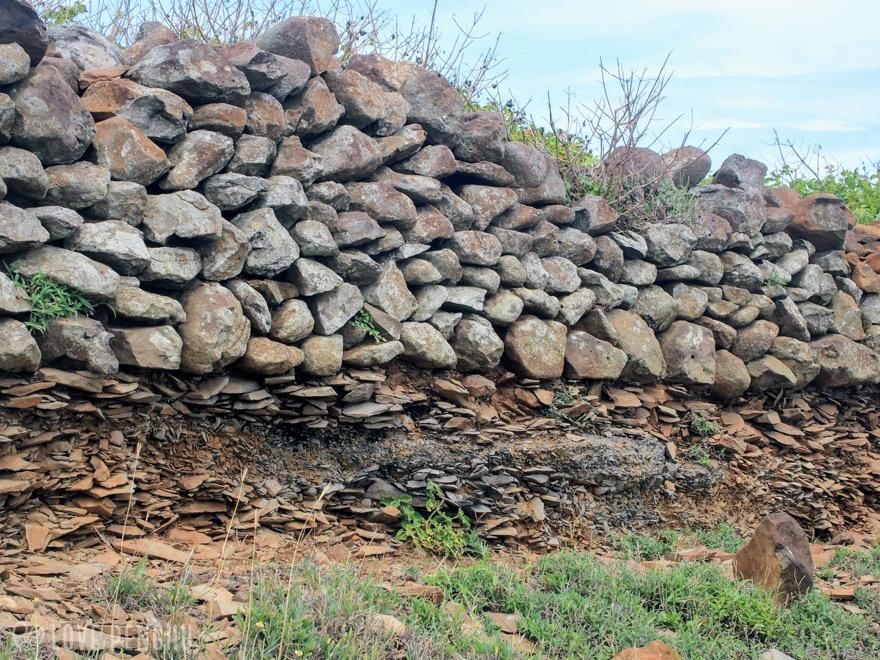 澎湖(ポンフー)の七美にある石器工場跡