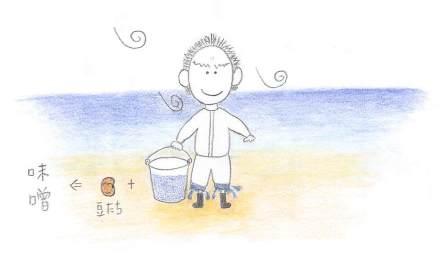 澎湖(ポンフー)の天然塩で自家製味噌づくり!