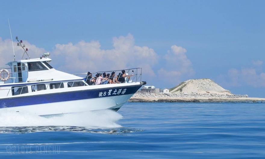 吉貝までの船