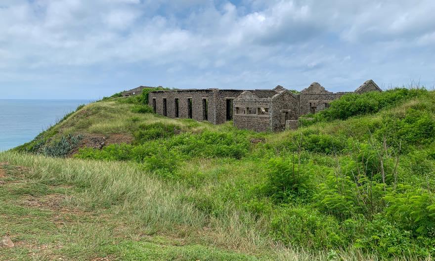 三仙塔にある旧日本軍の施設