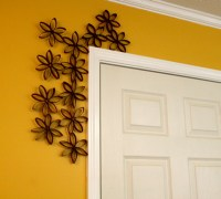 DIY Door Frame Decor and Tutorial