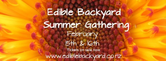 Edible Backyard Summer Gathering