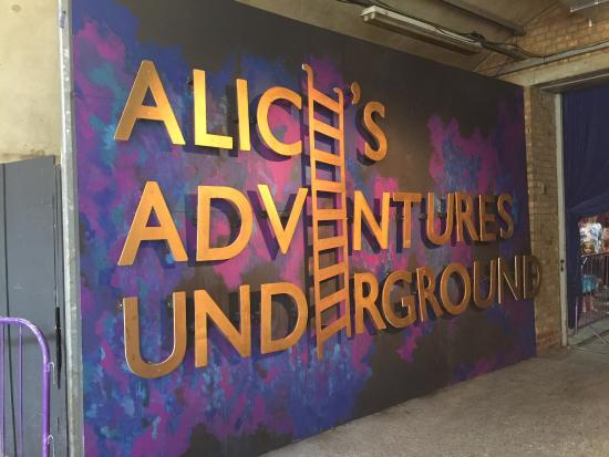 Alice Adventures Underground