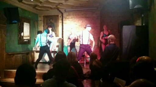 Paradise By Way of Kensal Green Uncorked Theatre Sleuth dancers