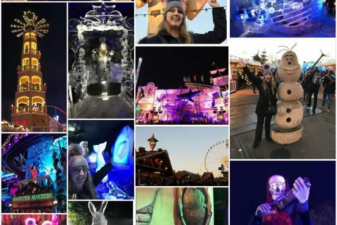 Winter Wonderland 2016 collage