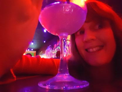 GlowMcGlow me and drink