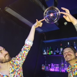 GlowMcGlow barmen and light