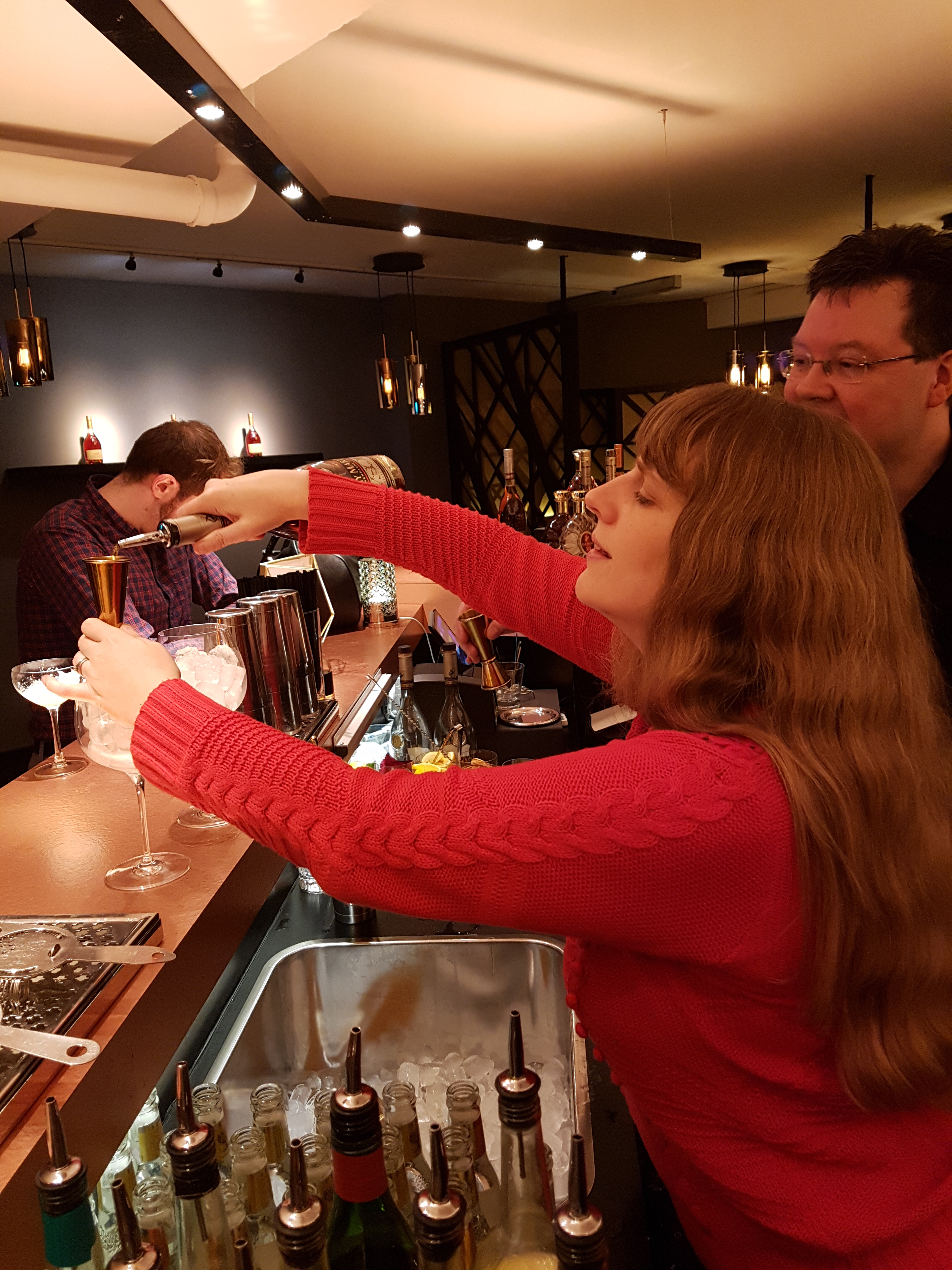 Remy me making drink