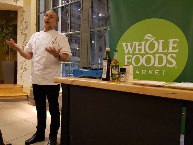 Whole Foods Michael Roux talk