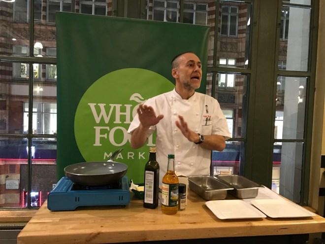 Whole Foods Skrei Micheal Roux talk