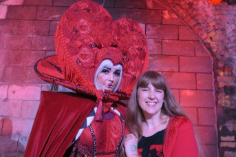 Alice Adventures Underground - Queen of Hearts and me