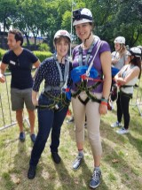 Zip World me and Gemma