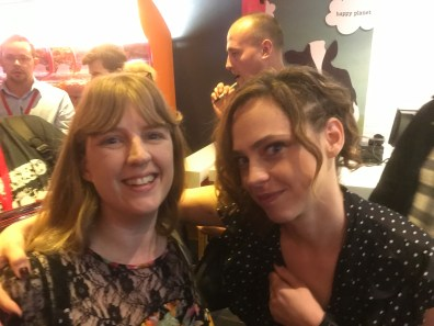 FrightFest Cult of Chucky - Me and Fiona Dourif