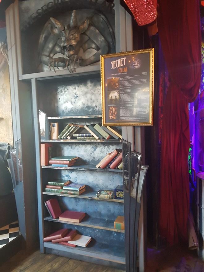 Secret Cellar the secret wardrobe