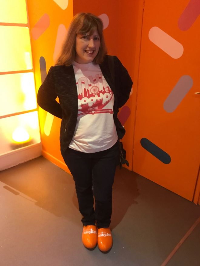 EasyJet Me and Clogs