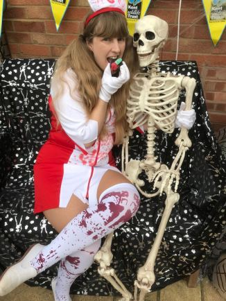 My Halloween at my selfie station
