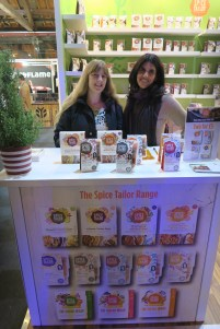 Taste of London Christmas The Spice Tailor Me and owner