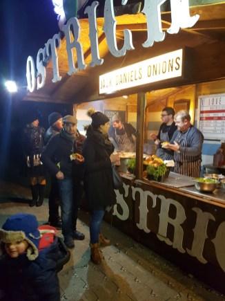 Magical Lantern Ostrich burgers