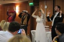 The Wedding Reception dance