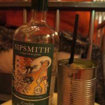 Alcotraz Sipmith Gin