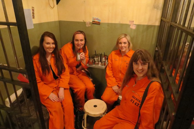 Us prisoners doing our time
