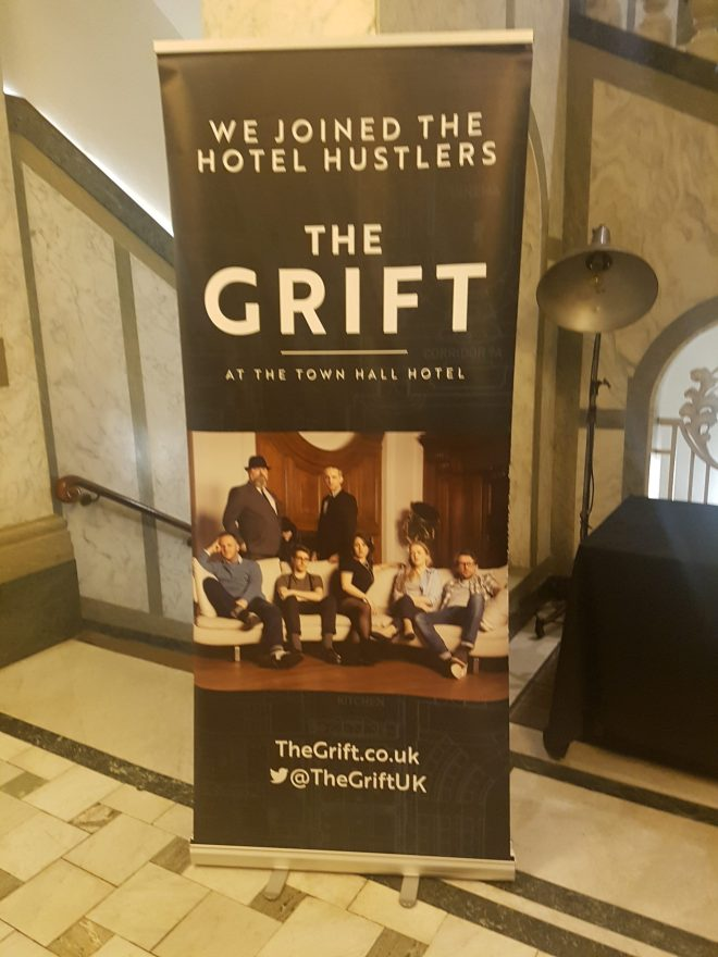 The Grift poster - how to con a con artist