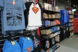 DC Exhibition merchandise superman